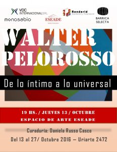 Muestra Walter Pelorosso